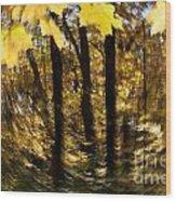 Fall Abstract Wood Print