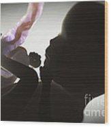 Fetus In Utero Week 15 Wood Print