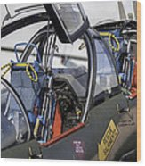 Fighter Jet. Wood Print