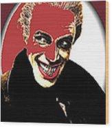 Film Homage Conrad Veidt The Man Who Laughs 1928-2013 Wood Print