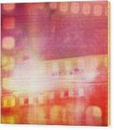 Film Negatives  Wood Print