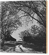 Film Noir Burt Lancaster Robert Siodmak The Killers 1946 Farm House Near Aberdeen Sd 1965 Wood Print