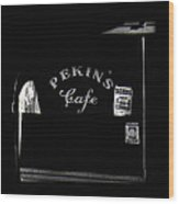 Film Noir Out Of The Past 1947 Pekin's Cafe Leveled Shortly Part Of Urban Renewal Tucson Az '67-'08 Wood Print