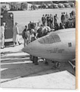 First Supersonic Aircraft, Bell X-1 Wood Print