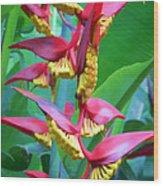 Flower 99 Wood Print