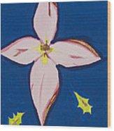 Flower Wood Print by Melissa Dawn