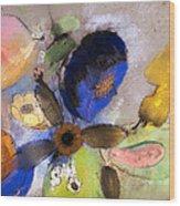 Flowers Wood Print by Odilon Redon