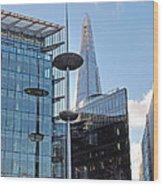 Focus On The Shard London Wood Print