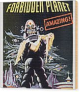 Forbidden Planet  Wood Print by Silver Screen