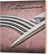 Ford Crown Victoria Emblem Wood Print