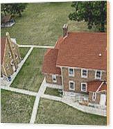 Fort Gratiot Light House Wood Print