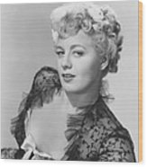 Frenchie, Shelley Winters, 1950 Wood Print