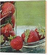 Fresh Berries Wood Print by Darren Fisher