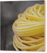 Fresh Pasta Wood Print