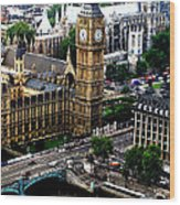From The Eye Big Ben Wood Print