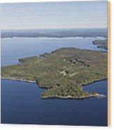 Frye Island, Maine Me Wood Print