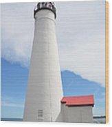 Ft Gratiot Lighthouse Wood Print