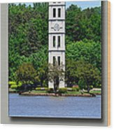 Furman Tower Wood Print