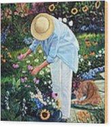 Gardener's Eden Wood Print