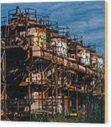Gas Works Park Seattle Wood Print
