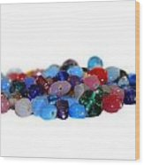 Gemstones Wood Print
