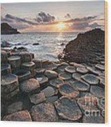 Giant's Causeway 2 Wood Print