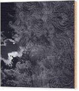 Goddess Vision Wood Print