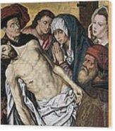 Goes, Hugo Van Der, Also Called Hugues Wood Print