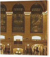 Grand Central Station Wood Print by Dan Sproul