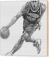 Grant Hill Wood Print by Harry West