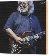 Grateful Dead - Jerry Garcia Wood Print