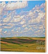 Great Plains Wood Print