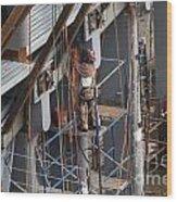 Ground Zero Construction Wood Print