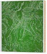 Guatemala Street Map - Guatemala City Guatemala Road Map Art On  Wood Print