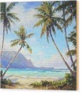 Hanalei Bay Wood Print