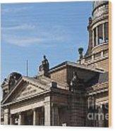 Hanseatic Supreme Court Of Hamburg Wood Print