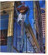 Hard Rock Cafe - Seattle Wood Print