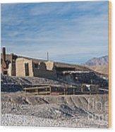 Harmony Borax Works Death Valley National Park Wood Print
