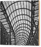 Hay's Galleria Roof Wood Print by Elena Elisseeva