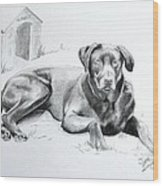 Hershey Wood Print