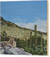 His Domain Wood Print