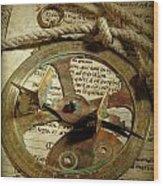 .historical Navigation Wood Print