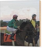 Hollywood Casino At Charles Town Races - 12122 Wood Print