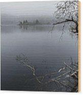 Hosmer Pond In Camden Maine Wood Print