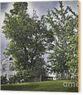 House On The Hill 3 Wood Print