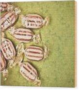 Humbug Sweets  Wood Print by Tom Gowanlock