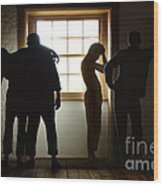 Hyde Park Prison Barracks Australia Wood Print