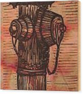 Hydrant Wood Print by William Cauthern
