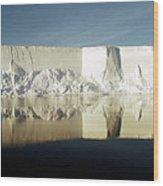 Iceberg Ross Sea Antarctica Wood Print