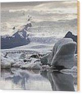 iceland Jokulsarlon Wood Print